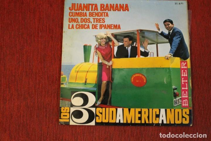 Discos de vinilo: LOTE 7 EPS LOS 3 SUDAMERICANOS - Foto 12 - 136066458