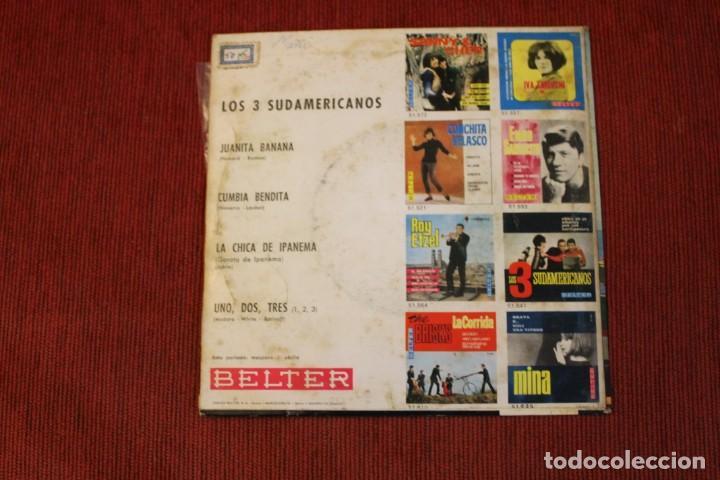Discos de vinilo: LOTE 7 EPS LOS 3 SUDAMERICANOS - Foto 13 - 136066458