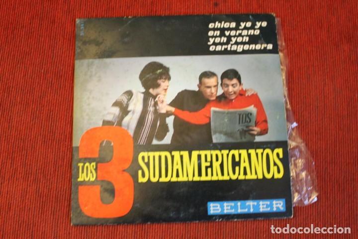 Discos de vinilo: LOTE 7 EPS LOS 3 SUDAMERICANOS - Foto 14 - 136066458