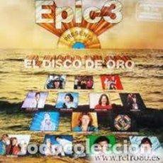 Discos de vinilo: EL DISCO DE ORO DE EPIC-VOL 3 - LP EPIC 1980. Lote 147786742