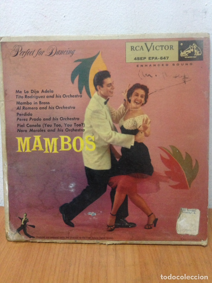 LP MAMBOS (Música - Discos - LP Vinilo - Cantautores Extranjeros)