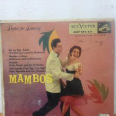 Discos de vinilo: LP MAMBOS. Lote 136069837