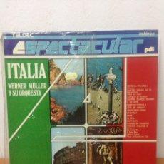 Discos de vinilo: LP ESPAÑOL 1987 - WERNER MULLER Y SU ORQUESTA - ITALIA ESPECTACULAR - PDI. Lote 136074166
