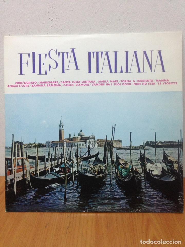 LP FIESTA ITALIANA (Música - Discos - LP Vinilo - Cantautores Extranjeros)