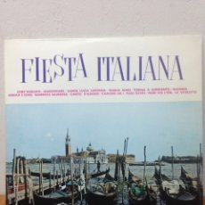 Discos de vinilo: LP FIESTA ITALIANA. Lote 136075004