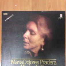 Discos de vinilo: MARÍA DOLORES PRADERA. ALBUM DE ORO. Lote 136077192