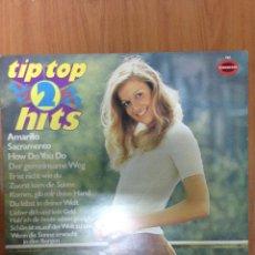 Discos de vinilo: TIP TOP 2 HITS. Lote 136080156