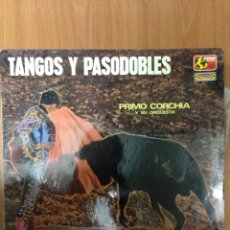 Discos de vinilo: TANGOS Y PASODOBLES. Lote 136080221