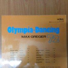 Discos de vinilo: OLYMPIA - DACING MAX GREGER 72. Lote 136080305