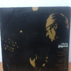 Discos de vinilo: ANDRÉS SEGOVIA. Lote 136082566