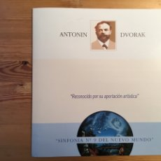 Discos de vinilo: ANTONIN DVORAK. SINFONÍA Nº 9 DEL NUEVO MUNDO. DIR VACLAV NEUMANN. Lote 136093144