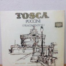 Discos de vinilo: TOSCA PUCCINI. Lote 136093170