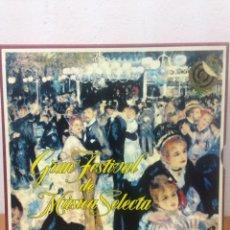 Discos de vinilo: GRAN FESTIVAL DE MUSICA SELECTA COLECCION DE 12 DISCOS. Lote 136094016