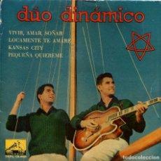 Discos de vinilo: DUO DINAMICO / KANSAS CITY / LOCAMENTE TE AMARE + 2 (EP 1960). Lote 136096490
