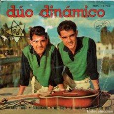 Discos de vinilo: DUO DINAMICO / BAILANDO TWIST / PERDONAME + 2 (EP 1962). Lote 136097562