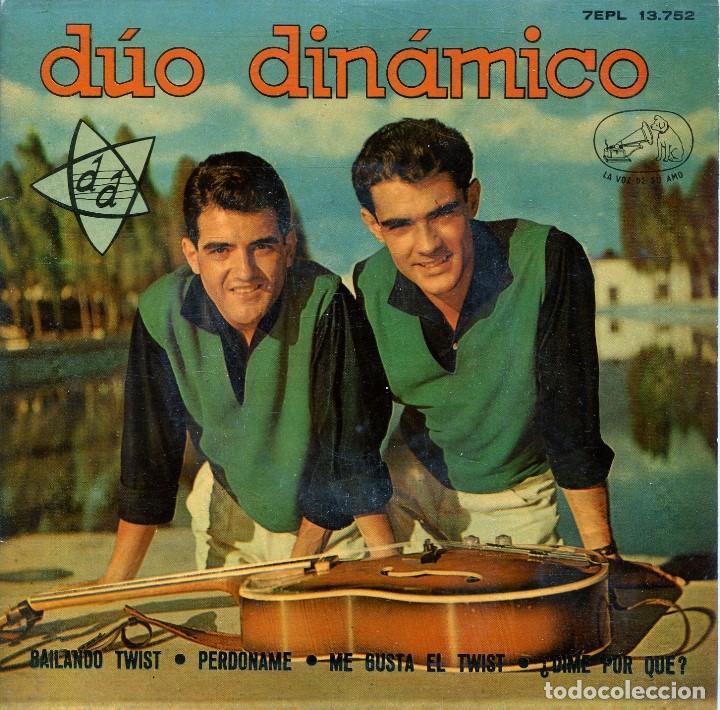 DUO DINAMICO / BAILANDO TWIST / PERDONAME + 2 (EP 1962) VINILO AZUL segunda mano