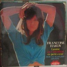 Discos de vinilo: FRANÇOISE HARDY, EP, L´AMITIÉ + 3 TEMAS - 1965 EDICION FRANCESA. Lote 136103706