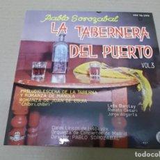 Dischi in vinile: ORQUESTA DE CONCIERTOS DE MADRID (EP) LA TABERNERA DEL PUERTO VOL. 3 AÑO 1961. Lote 136107694