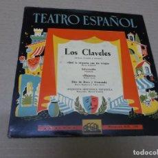 Discos de vinilo: ORQUESTA SINFONICA ESPAÑOLA (EP) LOS CLAVELES AÑO 1958. Lote 136108610