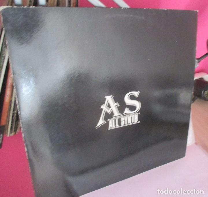AS ALL SYNTH - A MI LADO +2 TEMAS - MAXI 1993 - SYNTH POP BIZARRO AMATEUR (Música - Discos de Vinilo - Maxi Singles - Grupos Españoles de los 90 a la actualidad)