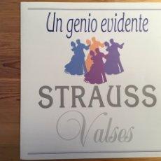Discos de vinilo: STRAUSS. VALSES. NEW CAVENDISH ORCHESTRA. LOGOMUSIC. Lote 136116034