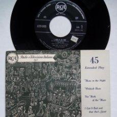 Discos de vinilo: DINAH SHORE CANTA I BLUES. BLUES IN THE NIGHT. EP RCA A72 V-0003. ITALIA. FRANK DE VOL. . Lote 136122090