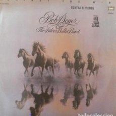 Discos de vinilo: BOB SEGER.AGAINST THE WIND.LP. Lote 136125886
