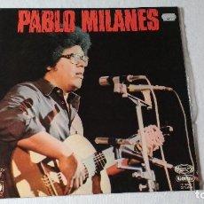 Discos de vinilo: ALBUM DEL CANTAUTOR CUBANO PABLO MILANES, PABLO MILANES. Lote 136126754