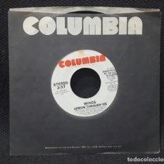 Discos de vinilo: PAUL MCCARTNEY - WINGS - BEATLES - ARROW THROUGH ME - SINGLE - PROMOCIONAL - USA - 1979. Lote 136134694