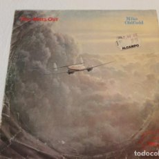 Discos de vinilo: MIKE OLDFIELD ··· FIVE MILES OUT / LIVE PUNKADIDDLE - (SINGLE 45 RPM). Lote 136140834