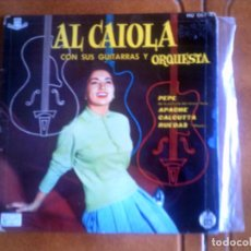 Discos de vinilo: DISCO DE AL CAIOLA TEMAS DE CINE. Lote 136141050
