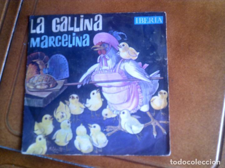 DISCO LA GALLINA MARCELINA MUSICA INFANTIL (Música - Discos de Vinilo - Maxi Singles - Música Infantil)
