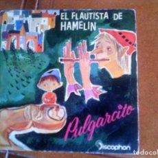 Discos de vinilo: DISCO CANCIONES DE CUENTOS INFANTILES. Lote 136141542