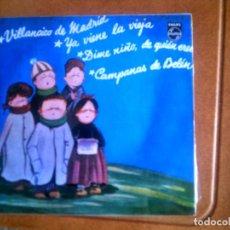 Discos de vinilo: DISCO DE VILLANCICOS AÑOS 60. Lote 136141886