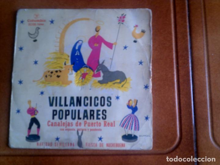 DISCO VILLANCICOS POPULARES AÑO 1959 (Música - Discos de Vinilo - EPs - Música Infantil)