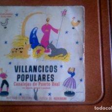 Discos de vinilo: DISCO VILLANCICOS POPULARES AÑO 1959. Lote 136142158