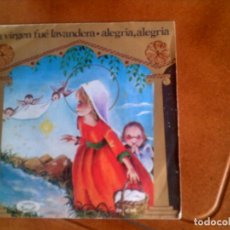 Discos de vinilo: DISCO DE VILLANCICOS DE NAVIDAD EDICION EN COLOR. Lote 136142426