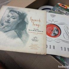 Discos de vinilo: NAN MERRIMAN -RECITAL DE CANCIONES ESPAÑOLAS -LP LA VOZ DE SU AMO 195? //PIANO: GERALD MOORE//. Lote 136145210