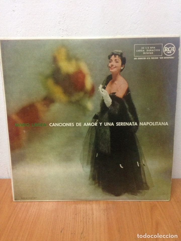 MARIA LANZA CANCIONES DE AMOR Y UNA SERENATA NAPOLITANA (Música - Discos - LP Vinilo - Cantautores Extranjeros)