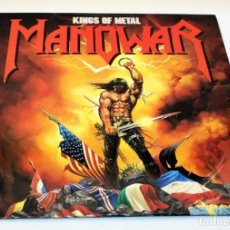 Vinyl-Schallplatten - MANOWAR - KINGS OF METAL - ATLANTIC - VERSION ESPAÑOLA - 781930-1 - 1988 - 136164554