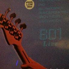 Discos de vinilo: 801.LIVE.LP. Lote 136165098