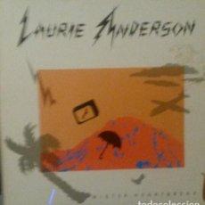 Discos de vinilo: LAURIE ANDERSON.MISTER HEARTBREAK.LP. Lote 136166270
