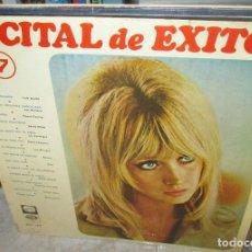 Discos de vinilo: LP RECITAL DE EXITOS 7-- LONE STAR-LOS MUSTANG-LOS SALVAJES-. Lote 136171906