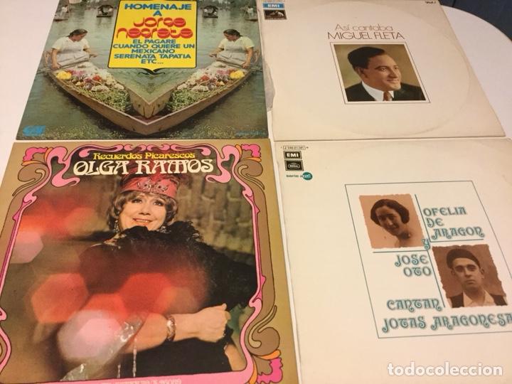LOTE DISCOS VINILO (Música - Discos - LP Vinilo - Clásica, Ópera, Zarzuela y Marchas)