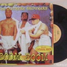 Discos de vinilo: THE OUTHERE BROTHERS - BOOM BOOM - MAXI-SINGLE 45 - ESPAÑOL 1995 - MAX MUSIC. Lote 136176582
