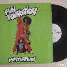 Discos de vinilo: FUN FOUNDATION - MASTERPLAN - MAXI-SINGLE 45 - 1991 - ELEKTRA. Lote 136178234