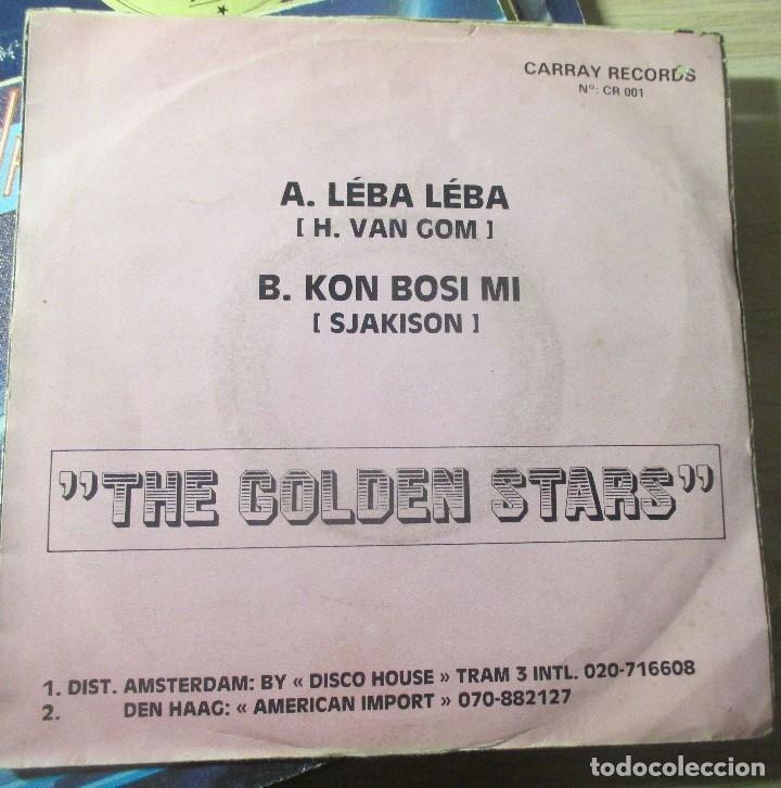 Discos de vinilo: THE GOLDEN STARS - LEBA LEBA - SINGLE CARRAY RECORDS - AÑO DESCONOCIDO - - Foto 2 - 136179746