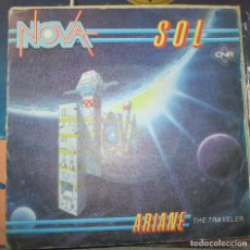 Discos de vinilo: NOVA - SOL - SINGLE 1982 - SYNTH POP - ESCUELA BERLIN. Lote 136182294