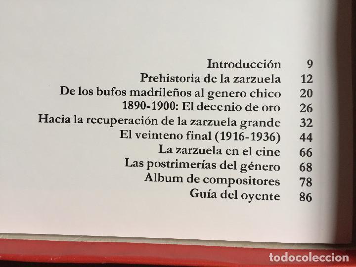 Discos de vinilo: Estuche 4 Discos Vinilo LP Zarzulea + Libro LA MÚSICA ELEGIDA Grandes Orquestas CBS 1982 - Foto 10 - 136183946