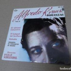 Discos de vinilo: ALFREDO KRAUS (EP) ROMANZAS DE ZARZUELAS VOL. 4 AÑO 1959. Lote 136189242